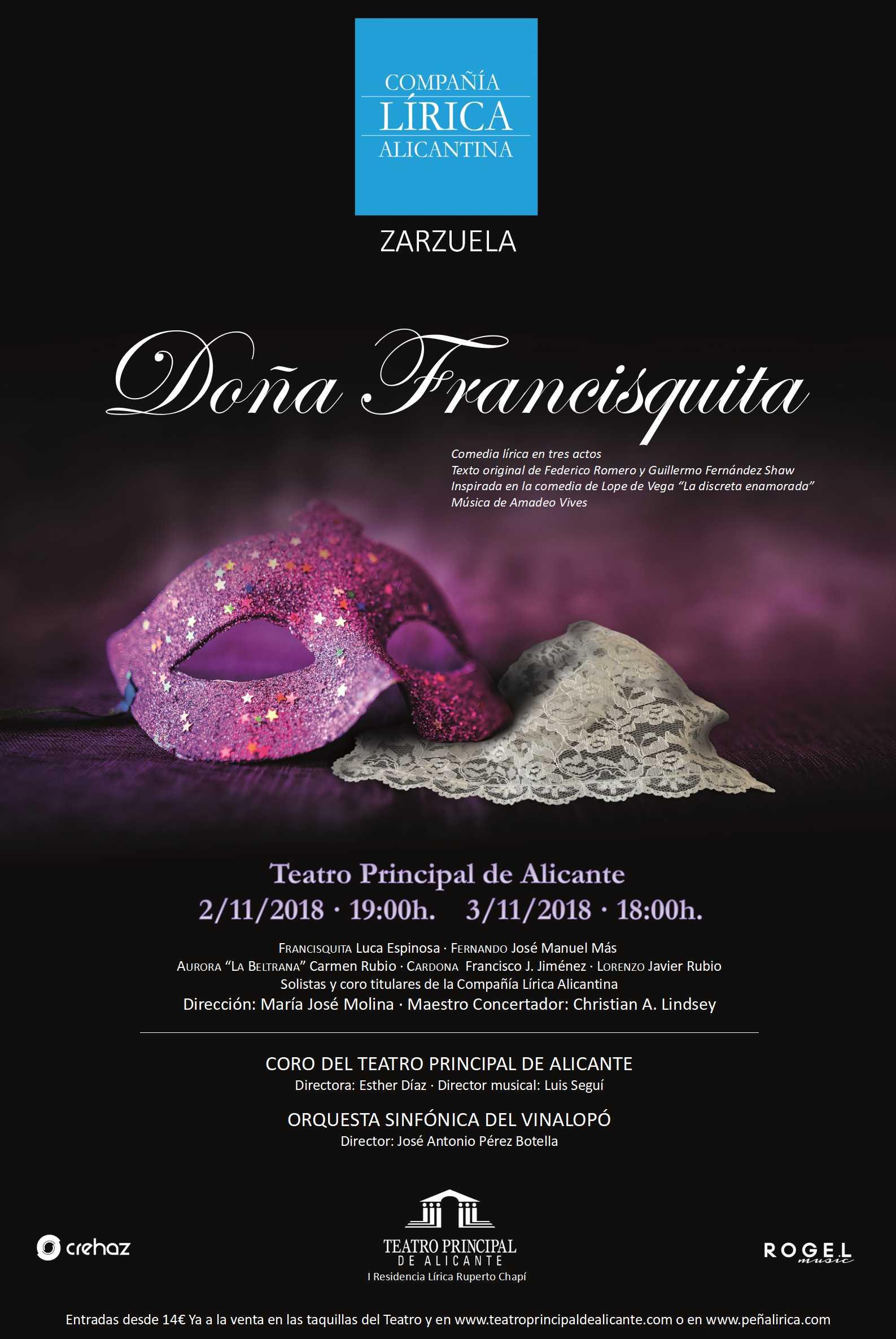 Carte-principal Dona Francisquita V7